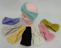 Baby Hand Knitted Ear Band [Bow-Shaped Loop]